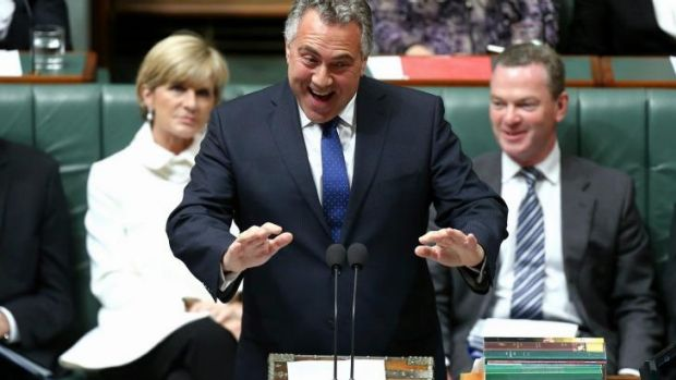 Joe Hockey receives a torrid time from Labor members in question time on Tuesday.