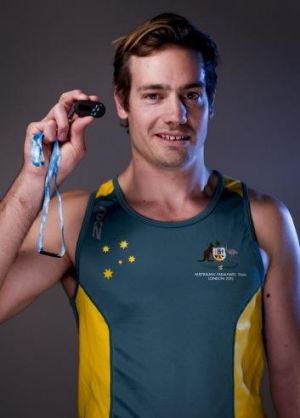 Canberra Paralympian Evan O'Hanlon spoke at the launch of the Steptember initiative, which raises money for cerebral palsy.