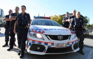 Beat heat: <em>Gold Coast Cops</em> airs on Ten.
