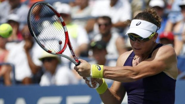 Stosur was Intent on avoiding a repeat of her first-round loss last year.