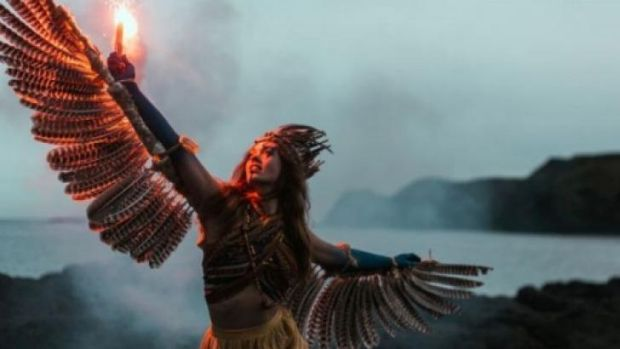Defended: The Beyond the Valley festival says its imagery reflects a love of global traditions.