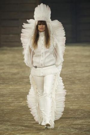 Apology: Chanel said their Metiers d'Art design was a tribute to craftsmanship.