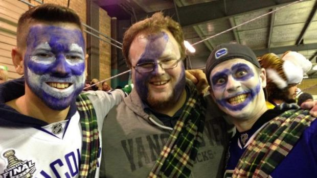 Some of the 'Braveheart' fans likely to join Mark Rummukainen at the Icehouse.