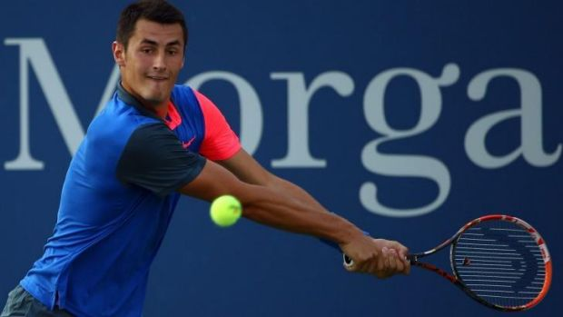 Tomic will face  Spanish fourth seed David Ferrer in the next round.