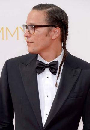 The <i>True Detective</i> director Cary Fukunaga had probably the most stand-out man-do of the year, with his french ...