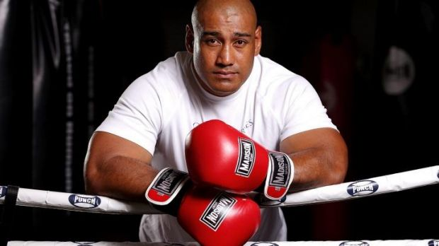 Returning to the ring:  Heavyweight hitter Alex Leapai.