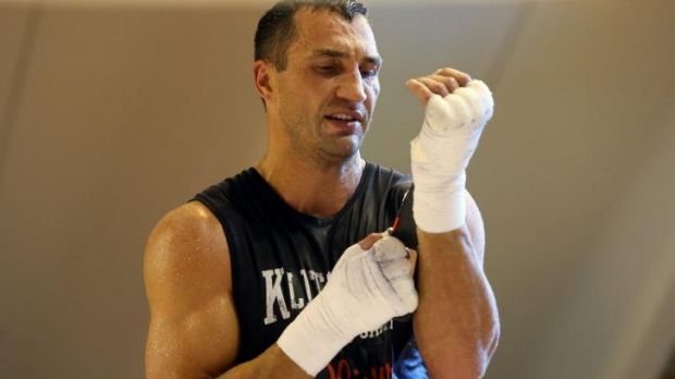Undisputed heavyweight world champion Wladimir Klitschko.
