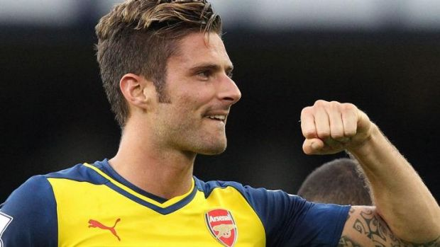 French striker Olivier Giroud
