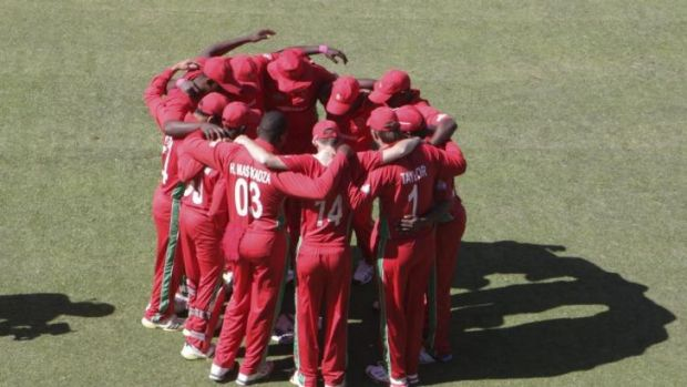 Zimbabwe's cricket team.