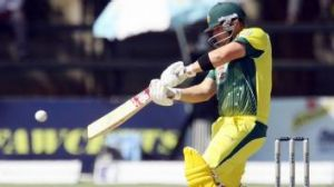 Finch showed maturity in his 102 against South Africa.
