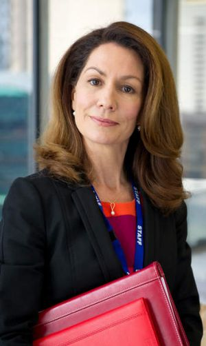 All dressed up: Kitty Flanagan as Rhonda from <i>Utopia</i>.