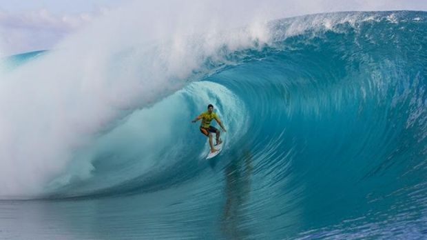 Gabriel Medina is about to become Brazil's first world surfing champion.
