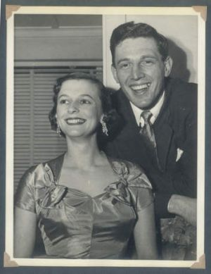 Pleasantville: Tim Elliott's parents, Max and Rosemary, in Sydney in the early 1950s.