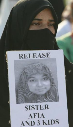An Islamist party activist asks for the release of the MIT-trained Pakistani neuroscientist.