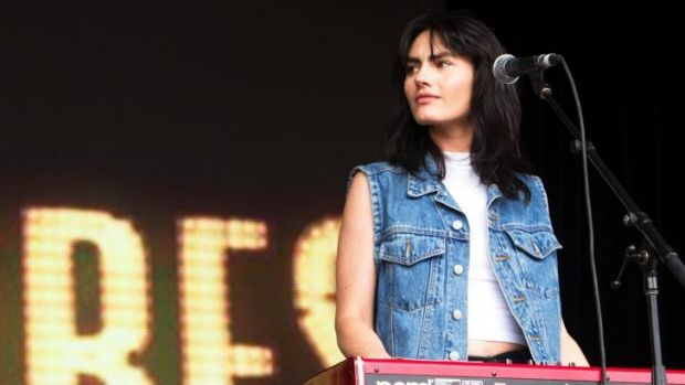 Supporting the Stones: Isabella Manfredi from The Preatures.