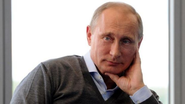 Encouraging Ukrainian separatists ... Russia's President Vladimir Putin attends the youth forum 'Seliger-2014' at ...