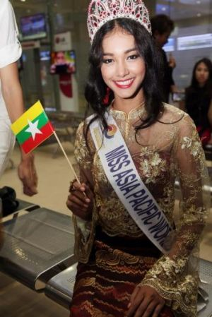Dethroned: beauty queen May Myat Noe.