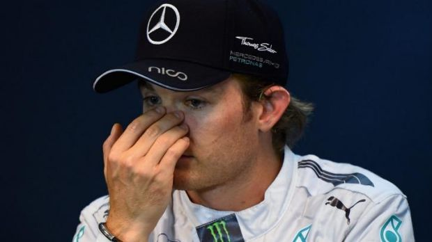 """The number one rule for us as team-mates is that we must not collide, but that is exactly what happened"": Nico Rosberg."