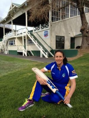 ACT Meteors recruit and New Zealand international Sara McGlashan.