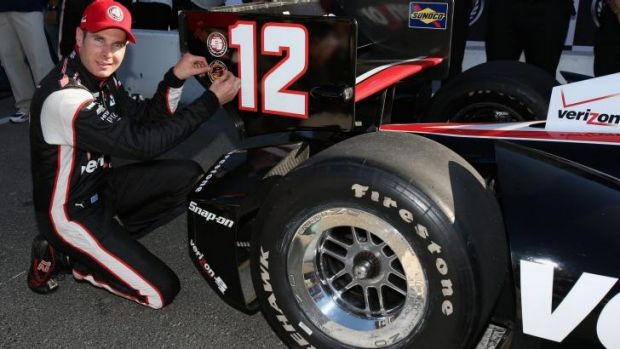On track: Needing only a sixth place finish in the last race, Will Power could win the title.