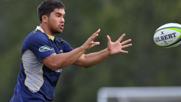 ACT Brumbies player of the year Jarrad Butler.