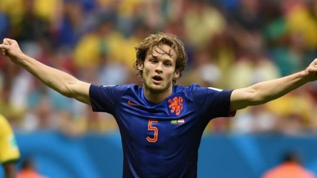 Dutch international defender Daley Blind.