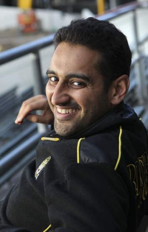 ABC broadcaster and Richmond fan Waleed Aly.