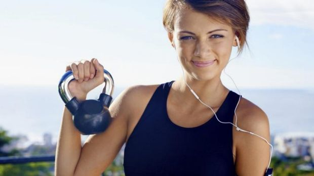 Youth elixir: workout with weights.