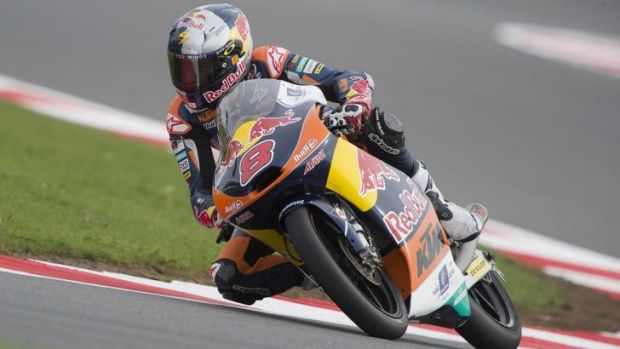 Jack Miller of Australia in action at Silverstone.