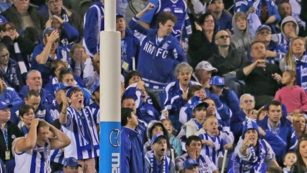 Unhappy: North Melbourne members were unable to buy tickets.