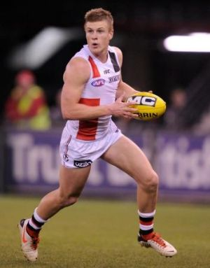 St Kilda's Jack Newnes was a plus for the team.