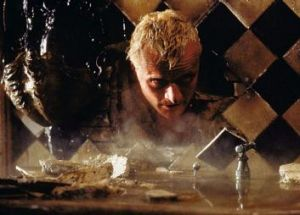 A question of semantics: Rutger Hauer as Roy Batty in the film Blade Runner.