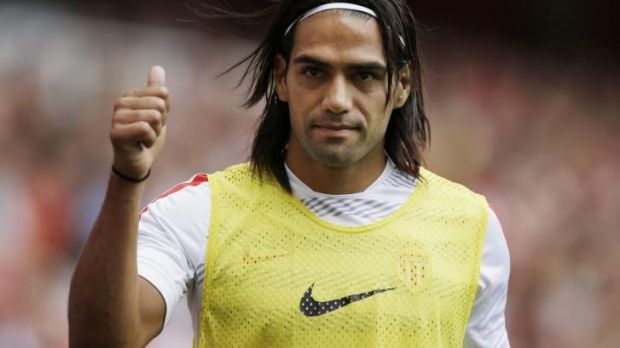 Heading to Manchester: Radamel Falcao.