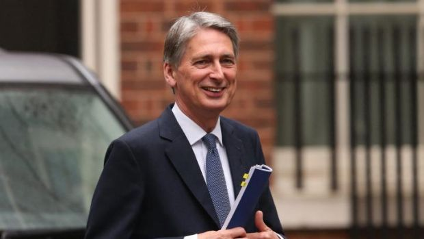 Britain's Foreign Secretary Philip Hammond criticised Israel's decision to expand a Jewish settlement in the West Bank, ...