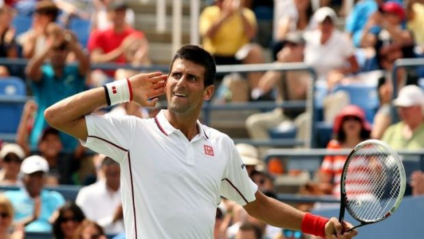 Listen to my footsteps: Novak Djokovic continues to power through the US Open draw.