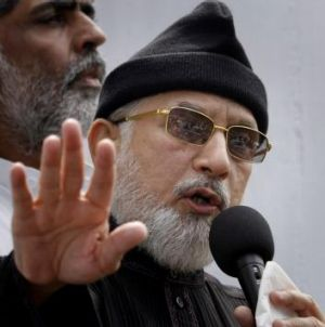 Anti-government cleric Tahirul Qadri wants a change in leadership.