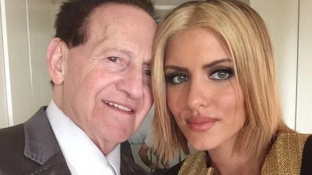 "Geoffrey Edelsten is ""disgusted"" his 25-year-old partner Gabi Grecko was targeted by hackers."