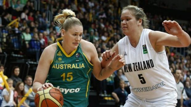 Ruled out: Lauren Jackson will miss the world championships.