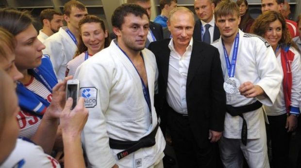 Concerns are growing over expansion plans by Russian President Vladimir Putin, who attended the Judo World Cup in ...
