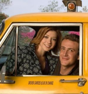 The real romance: The relationship between Lily (Alyson Hannigan) and Marshall (Jason Segel) in <i>How I Met Your ...