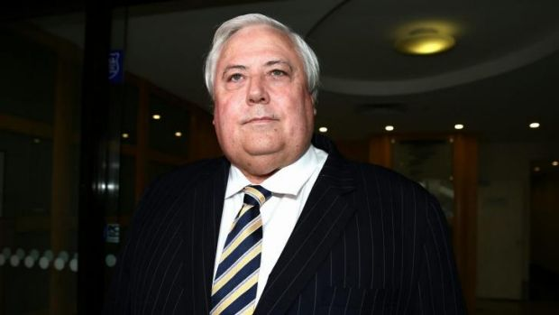 Clive Palmer: the mining magnate walked off The Project as his colleague took the Ice Bucket challenge.