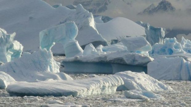 Sea ice growth in the Antarctic is a symptom of climate change, scientists say.