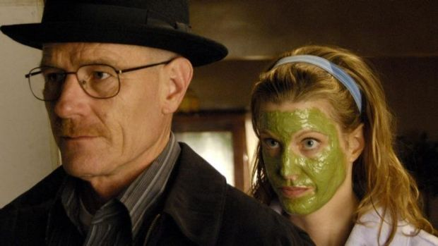 People can't seem to get enough of <i>Breaking Bad</i>: Bryan Cranston (Walt) and Anna Gunn (Skyler White).