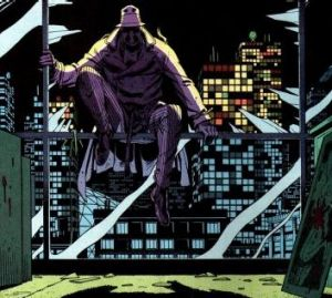 Rorschach test: Alan Moore's graphic novel <i>Watchmen</i> was long considered unfilmable.
