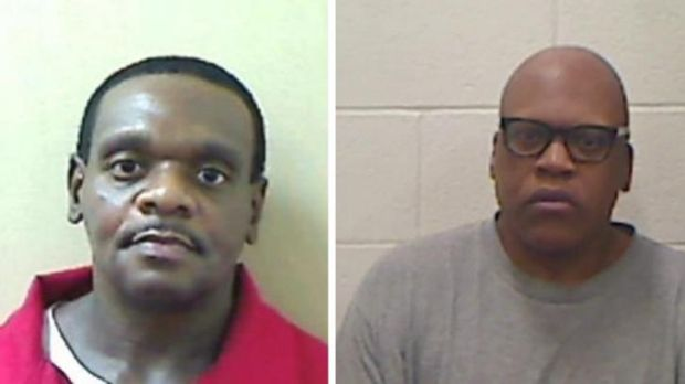 Henry McCollum (left) and his brother, Leon Brown, spent 30 years in jail.
