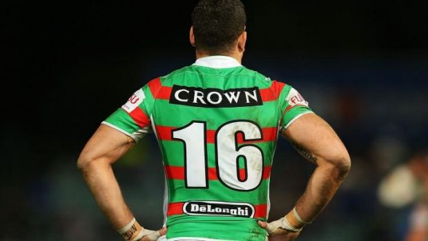 """Words can't describe what this club means to me ... It means a hell of a lot"": South Sydney's Greg Inglis."