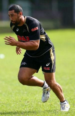 Delayed surgery: Penrith's Brent Kite.