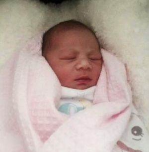 Canberra Raiders forward Josh Papalii welcomed his first child, Khalani-Rose,  into the world this week.