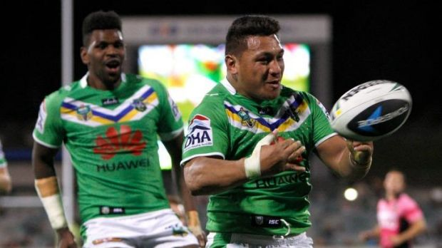 Josh Papalii has had a difficult year with the Raiders.