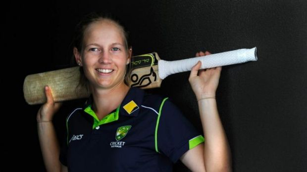 A ground-breaking appointment: Meg Lanning.